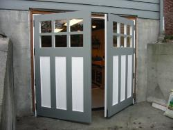 Unfortunately, many new carriage house doors are still built and/or installed as shed doors.  Vintage Garage Door, LLC has overcome all of these problems with all types of opening styles including Hinged, Swinging, Swing-Out, Swing-In, and Swing REAL carriage house doors.