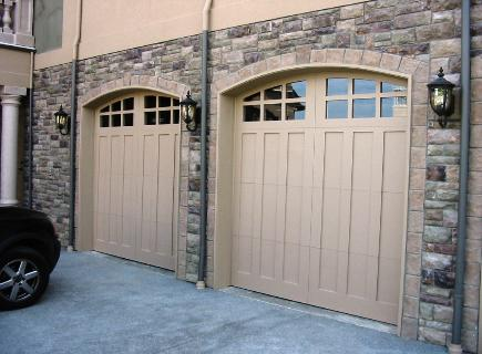 Choose the opening style that  meets your garage door  requirements:  Roll-up in  sections, Swing-out, Swing-in,  Slide, or Fold for your carriage  house garage doors.