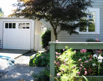 Queen Anne Craftsman Garage Doors