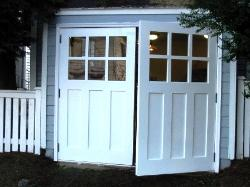Beau REAL Carriage Doors For Your Carriage House Built And Installed To Open As  Swing Out
