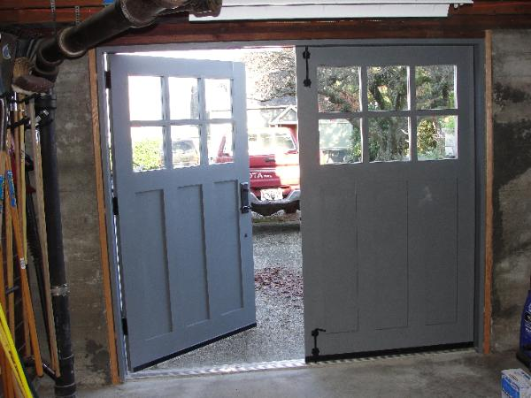 Hand Made Custom Carriage Garage Doors And Real Carriage