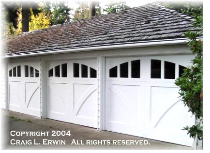Hand-Made Custom Wood Garage Doors and REAL Carriage House Doors ...